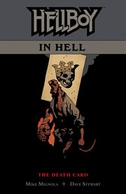 Hellboy in Hell. Volume 2, issue 6-10. Death card cover image