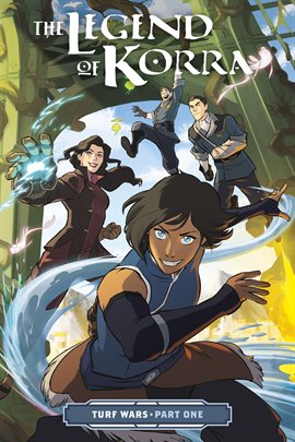 Cover image for The Legend of Korra: Turf Wars - Part One