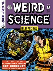 Weird Science : Weired science issues 19-22, and weired science-fantasy issues 23-24. Volume 4, issue 19-22 cover image