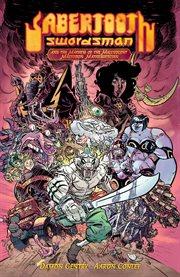Sabertooth Swordsman and the mayhem of the malevolent Mastodon Mathematician. Issue 1 cover image