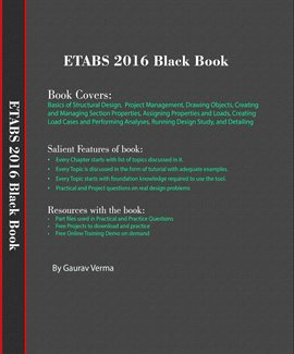 Cover image for ETABS 2016 Black Book