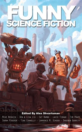 Cover image for Funny Science Fiction