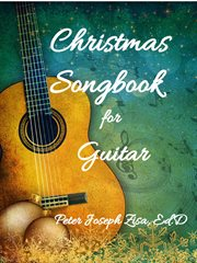 Christmas songbook for guitar cover image