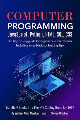 Cover image for Computer Programming JavaScript, Python, HTML, SQL, CSS