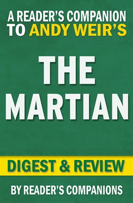 Cover image for The Martian: A Novel by Andy Weir | Digest & Review