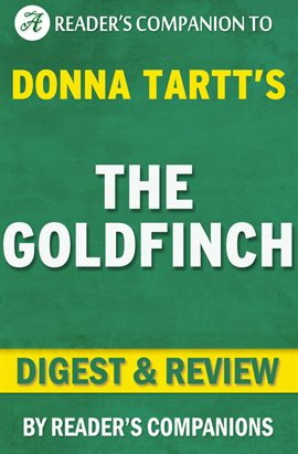 Cover image for The Goldfinch by Donna Tartt | Digest & Review