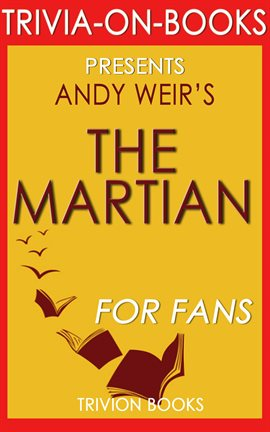 Cover image for The Martian: A Novel by Andy Weir