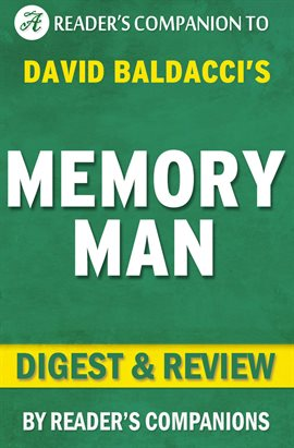 Cover image for Memory Man: By David Baldacci | Digest & Review