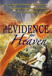 The evidence for Heaven cover image