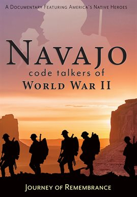 Cover image for Navajo Code Talkers of World War II