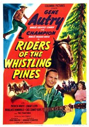 Riders of the whistling pines cover image