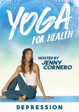 Yoga para la salud con Jenny Cornero: depresión, portada del libro