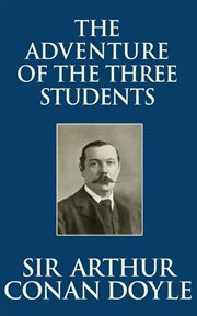 The adventure of the three students cover image