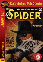 Spider ebook #103, the. Slaves of the Ring cover image