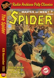 Spider ebook #26, the. Death Reign of the Vampire King cover image