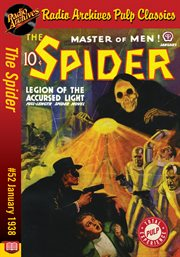 Spider ebook #52, the. Legions of the Accursed Light cover image