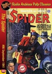 Spider ebook #96, the. The Spider and the Deathless One cover image