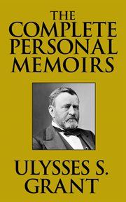 The complete personal memoirs cover image