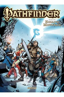 Cover image for Pathfinder Vol. 5: Hollow Mountain