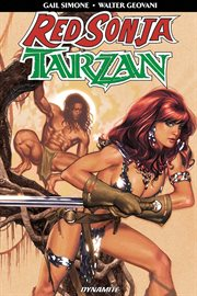 Red sonja/tarzan collection cover image