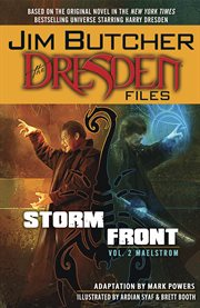 Jim Butcher's the Dresden files. Issue 5-8, Storm front cover image