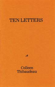 Ten letters cover image