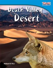 Death Valley desert cover image
