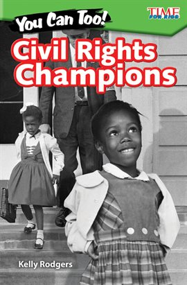 You Can Too! Civil Rights Champions, book cover