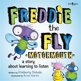 Cover image for Freddie the Fly: Motormouth