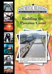 Building the Panama Canal cover image
