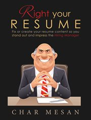 Right your Resume