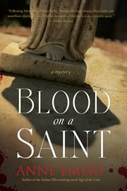Blood on a saint a mystery cover image