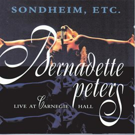 Cover image for Sondheim, Etc.: Live At Carnegie Hall