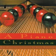 A piano christmas cover image