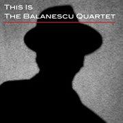 This is the balanescu quartet cover image
