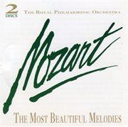 Mozart: the most beautiful melodies cover image