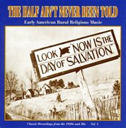 The half ain't never been told, vol. 1 cover image