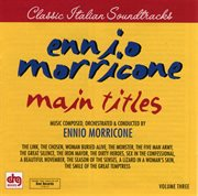 Morricone, ennio - main titles - volume 3 cover image