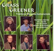 The grass is greener cover image