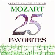 25 Mozart favorites cover image