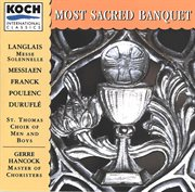 Most sacred banquet cover image