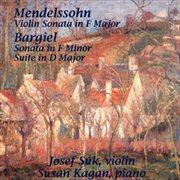 Violin sonata in F major cover image