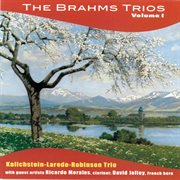 The Brahms trios. Volume 1 cover image