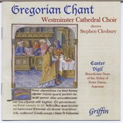 Gregorian chant from westminster cathedral choir (also from argentan) cover image