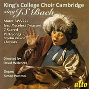 King's college choir cambridge sings j.s. bach cover image