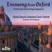 Evensong from Oxford cover image