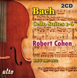 Cover image for Bach: Cello Suites 1-6