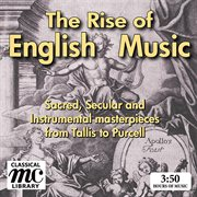 The rise of english music cover image