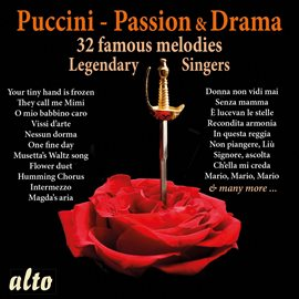 Cover image for Puccini: Romance & Drama - Legendary Singers