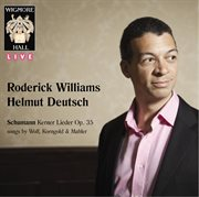 Schumann kerner lieder op. 35, songs by wolf, korngold & mahler cover image